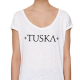 Tuska - Naisten T-Paita Valkoinen